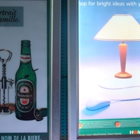 铝质灯箱超薄制作大尺寸无盲区亮度高