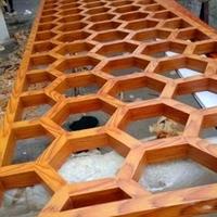 商业区装饰材料铝屏风生产厂家