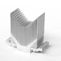 山字型铝合金散热器型材批发