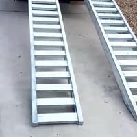 工程机械曲折货车铝爬梯铝合金轨道
