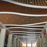 展厅木纹铝方通专业厂家这里价钱低