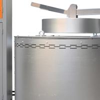 创美威 熔化炉 加热炉 年夜型熔铝炉