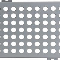 亮银色聚酯烤漆镂空雕花铝板幕墙