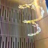 造型铝方通_弧形造型铝方通幕墙