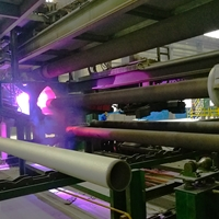 跃华环保 圆管,管道 喷涂生产线