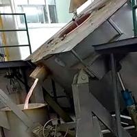倾斜式熔铝炉 可倾式熔炼炉 熔炼保温炉