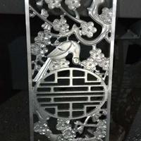 拉丝古铜中式铝板雕刻屏风