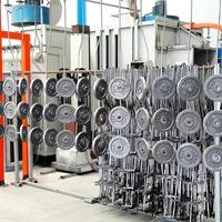 躍華環保  體育器材  噴涂生產線