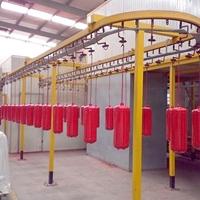 跃华环保  消防器材  喷涂生产线