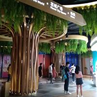 铝树造型铝方通诠释了商场包柱铝板装饰美