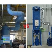 湿式除尘器与干式除尘器选择