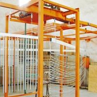 跃华环保 铁护栏,扶手  喷涂生产线