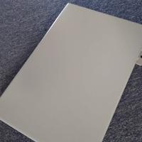度假酒店淺灰色門頭鋁單板-雨棚鋁單板