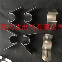 厂家铝编织带固定夹具  硅碳棒接线配件
