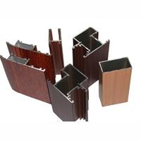 模仿木纹铝型材门窗厂家直销