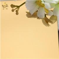 黄钛金装饰板 供应不锈钢镜面装饰板定制