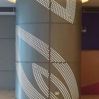 供应包柱陶瓷木纹漆铝单板幕墙厂家