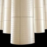 外门头装修包柱铝单板-室内外柱子装饰