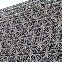酒店外墙专用氟碳喷涂雕花铝板