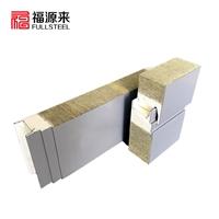 聚氨酯封边横装岩棉夹芯板