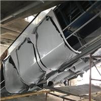 电梯侧边包边弧形铝板厂家供应