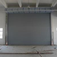 厂房外部抗风卷帘门