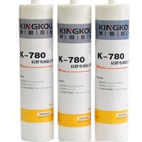 铝合金粘透明硅胶胶水 780硅胶公用粘合剂