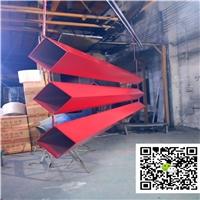 弧形凹槽铝通包墙凹凸海浪铝方通-定制厂家
