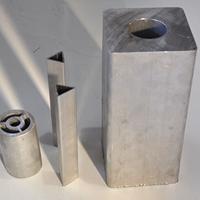 陕西厚壁铝方管矩形管