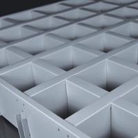 铝格栅吊顶报价、铝格栅_项目齐全 施工便利