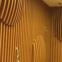 ?狮山校区木纹四方管-幕墙铝方通生产