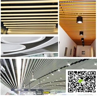 职业学院背景墙造型铝方通-幕墙弧形铝方通