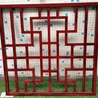 上海仿古门窗休闲农庄铝屏风