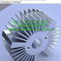 太陽花鋁制散熱片加工供應