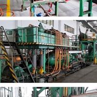 转让二手800吨铝型材挤压机生产线