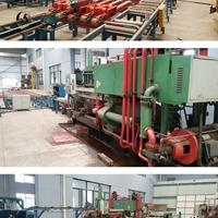 轉讓二手500噸鋁型材擠壓機生產線