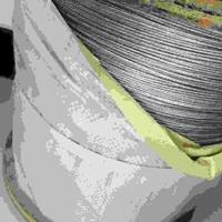 玻璃棉用涂塑钢丝绳订货价钱