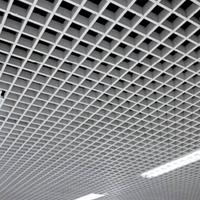 铝格栅厂家定做白色铝格栅