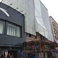 商店外墙氟碳铝板-黑色铝板装饰