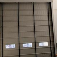 超大型廠房外部堆積門