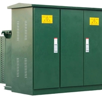 变压器美式箱变路灯照明箱式变压器200KVA