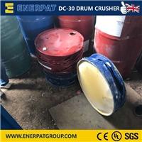 轻型液压油桶压扁机 英国品牌