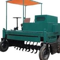 自走式行走式翻拋機有機肥設備