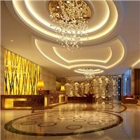 四星级旅馆应用铝蜂窝板、金属屏风
