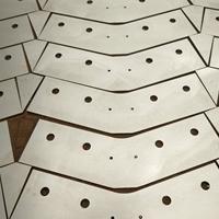 合金鋁板加工沖孔切割