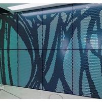 背景墙艺术彩色3D铝单板'密拼'系统厂家