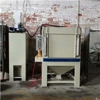锯片自动喷砂机