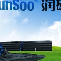 潤碩供應dn300PE雙壁波紋排污管價格