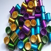 氧化铝管彩色阳极氧化铝管65mm铝管