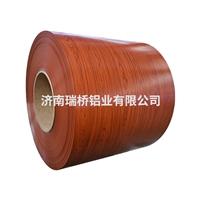 优质辊涂木纹铝板 樱桃木 深栓木 定制花色